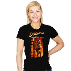 Doomguy and the Planet of Doom - Womens - T-Shirts - RIPT Apparel