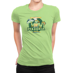 Mikey's Pizzeria Exclusive - Womens Premium - T-Shirts - RIPT Apparel