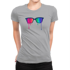 Love Wins - Pride - Womens Premium - T-Shirts - RIPT Apparel