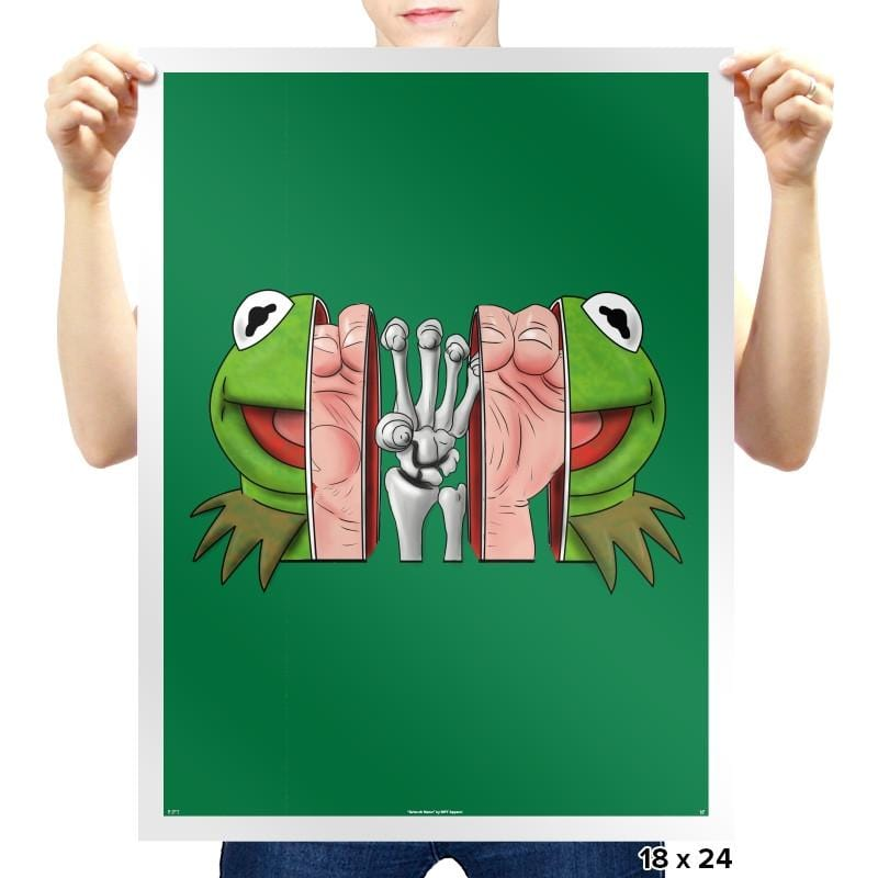 Inside the Frog - Prints - Posters - RIPT Apparel