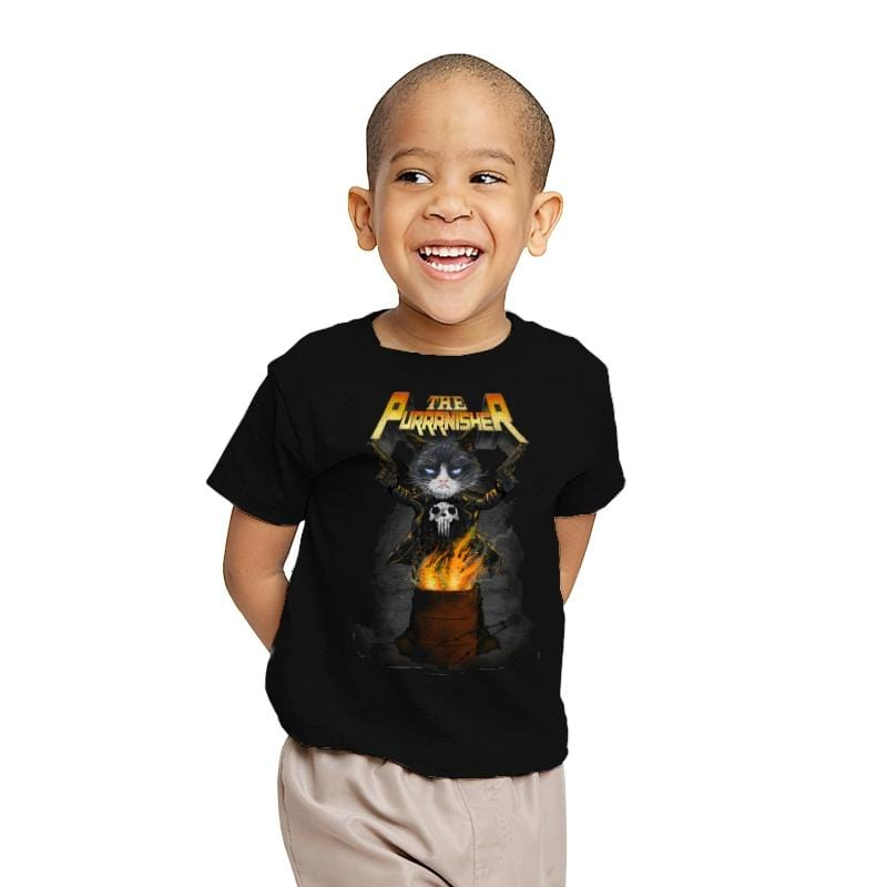THE PURRRNISHER - Youth - T-Shirts - RIPT Apparel
