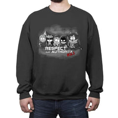 Guardians of Authority  - Crew Neck Sweatshirt - Crew Neck Sweatshirt - RIPT Apparel