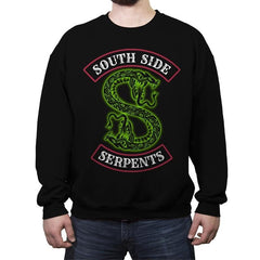 South Side Serpents - Crew Neck Sweatshirt - Crew Neck Sweatshirt - RIPT Apparel