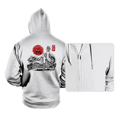 Screaming Red Sun - Hoodies - Hoodies - RIPT Apparel