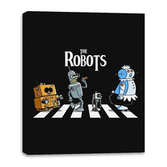 The Robots - Canvas Wraps - Canvas Wraps - RIPT Apparel