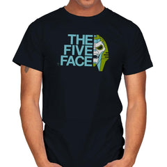 The Five Face Exclusive - Mens - T-Shirts - RIPT Apparel