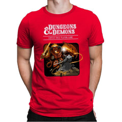 Dungeons & Dwarves - Mens Premium - T-Shirts - RIPT Apparel