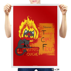 Le Litten Exclusive - Prints - Posters - RIPT Apparel