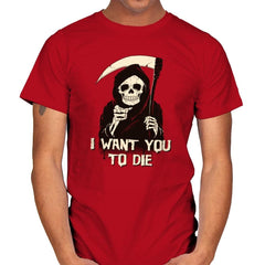 Death Chose You! - Anytime - Mens - T-Shirts - RIPT Apparel