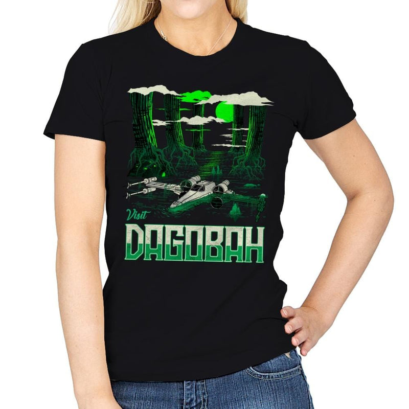 Visit The Swamp - Womens - T-Shirts - RIPT Apparel