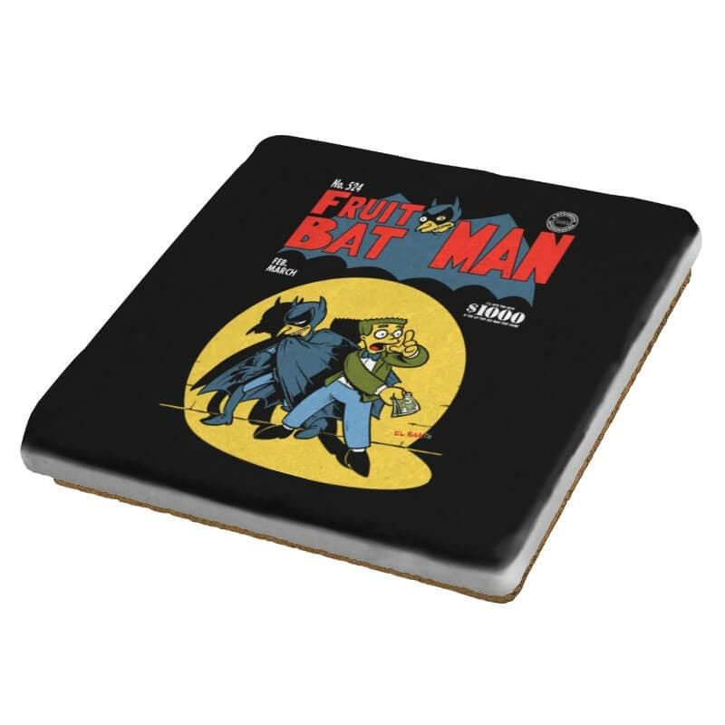 Fruitbat Man - Coasters - Coasters - RIPT Apparel