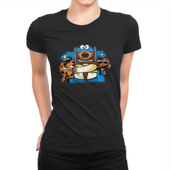 Cookie Devourer - Womens Premium - T-Shirts - RIPT Apparel