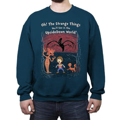 Oh! The Strange Things You'll See! - Crew Neck Sweatshirt - Crew Neck Sweatshirt - RIPT Apparel