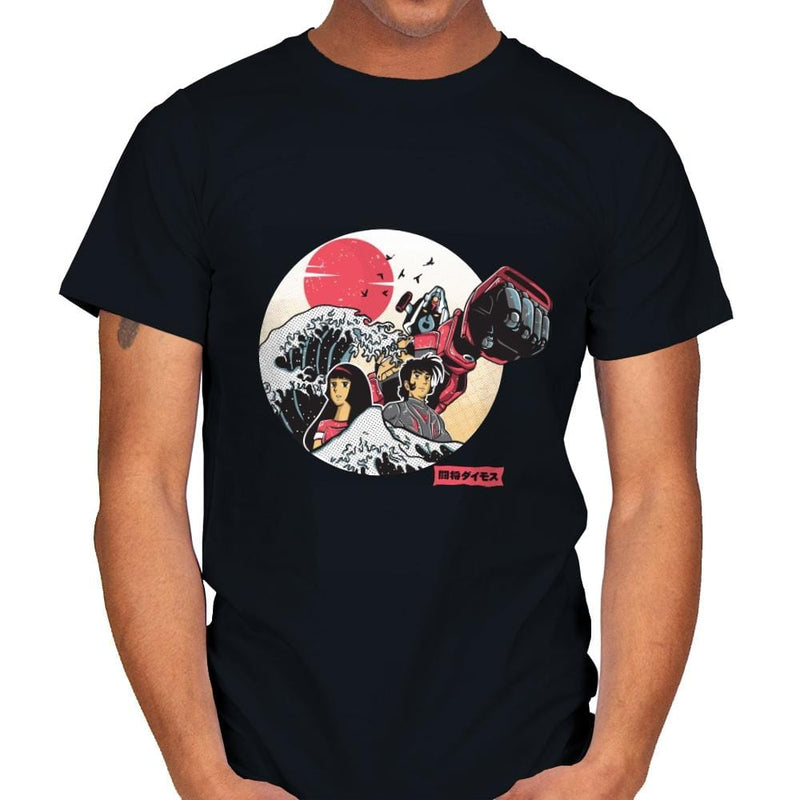Great Love of Kanagwa Wave - Mens - T-Shirts - RIPT Apparel