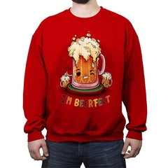 Beerfect - Crew Neck Sweatshirt - Crew Neck Sweatshirt - RIPT Apparel