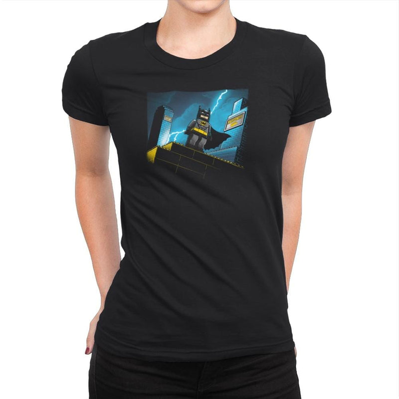 Minibat: The Animated Series Exclusive - Womens Premium - T-Shirts - RIPT Apparel