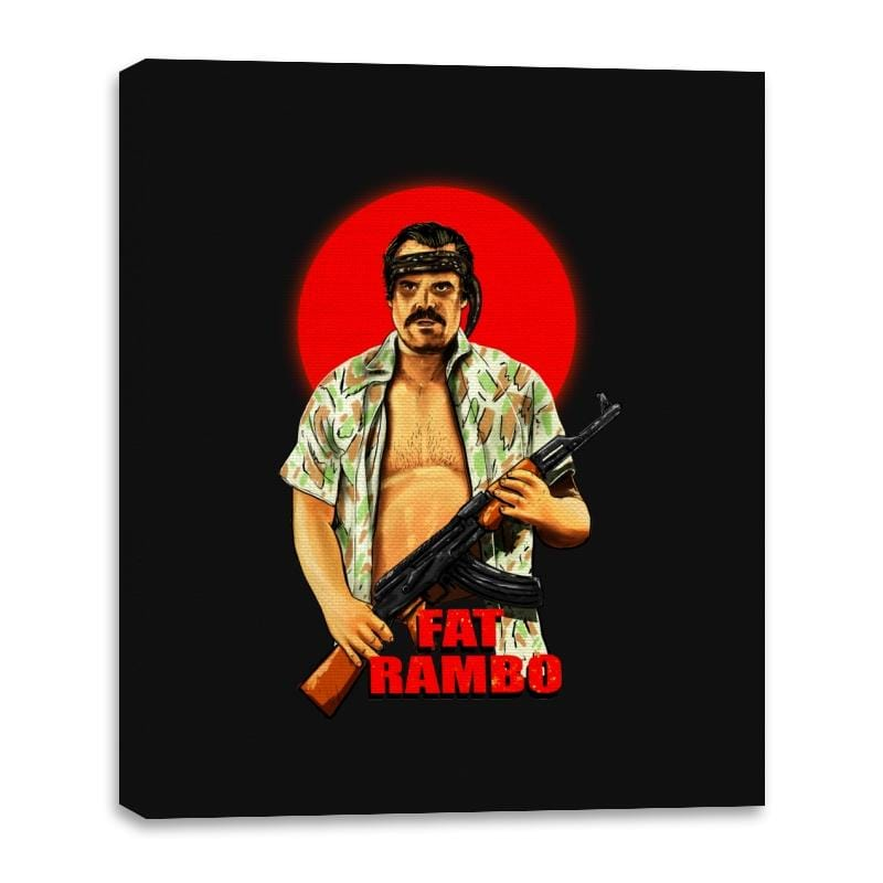Fat Rambo - Canvas Wraps - Canvas Wraps - RIPT Apparel