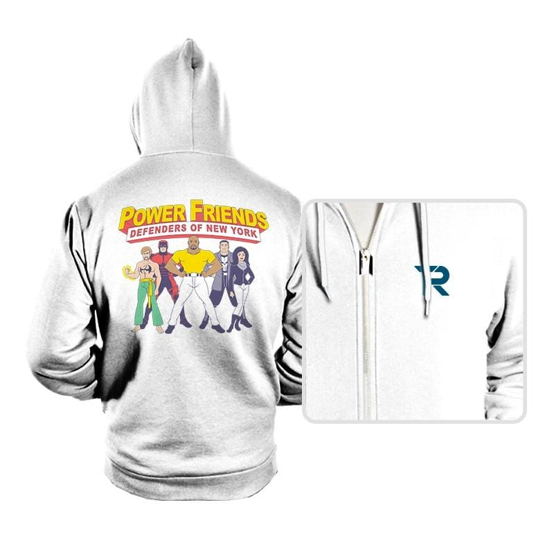 The Power Friends - Hoodies - Hoodies - RIPT Apparel