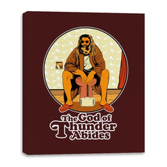 The God of Thunder Abides - Anytime - Canvas Wraps - Canvas Wraps - RIPT Apparel