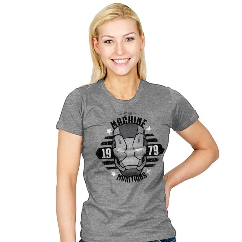 War Munitions Exclusive - Womens - T-Shirts - RIPT Apparel