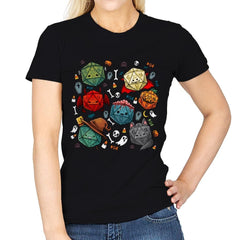 Halloween Dice - Womens - T-Shirts - RIPT Apparel