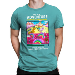Time for Adventure - Mens Premium - T-Shirts - RIPT Apparel