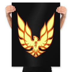 Firebird - Prints - Posters - RIPT Apparel