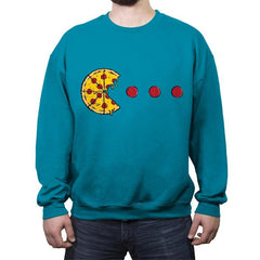 PIZZA-MAN - Crew Neck Sweatshirt - Crew Neck Sweatshirt - RIPT Apparel