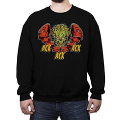 Total Ack Ack Ack - Crew Neck Sweatshirt - Crew Neck Sweatshirt - RIPT Apparel
