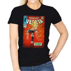 The Amazing Vegeta Exclusive - Womens - T-Shirts - RIPT Apparel