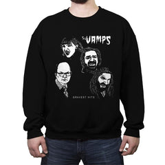 The Vamps - Crew Neck Sweatshirt - Crew Neck Sweatshirt - RIPT Apparel
