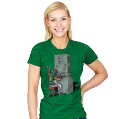 Bountiful Art  - Womens - T-Shirts - RIPT Apparel
