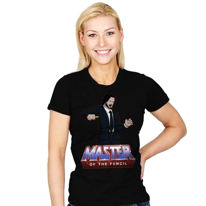 Master Of The Pencil - Womens - T-Shirts - RIPT Apparel