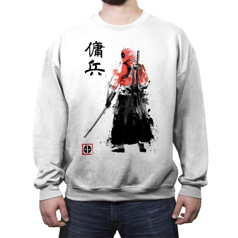 Ronin Mercenary Reprint - Crew Neck Sweatshirt - Crew Neck Sweatshirt - RIPT Apparel