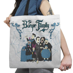 The Burger Family Exclusive - Tote Bag - Tote Bag - RIPT Apparel