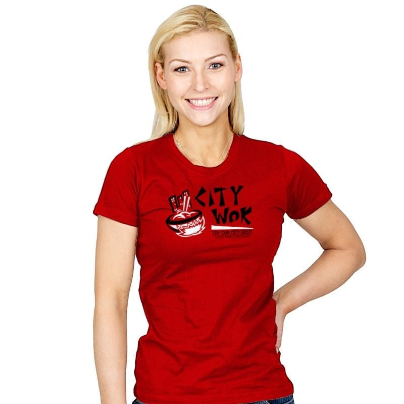 City Wok Exclusive - Womens - T-Shirts - RIPT Apparel