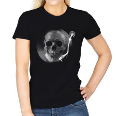 Death Tune - Womens - T-Shirts - RIPT Apparel