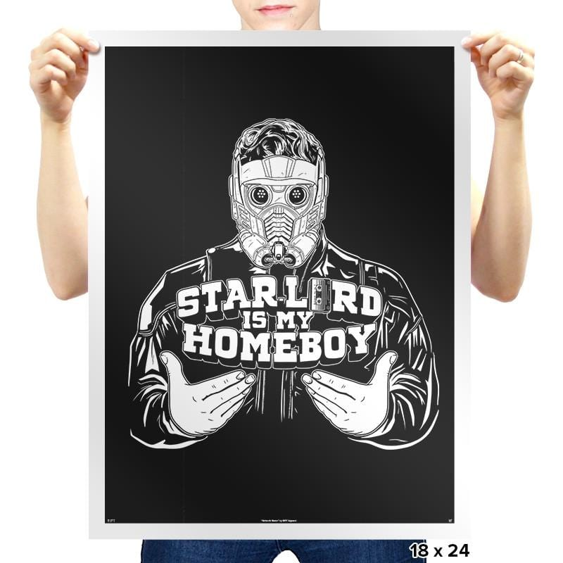 Home-Lord Is My Starboy Exclusive - Prints - Posters - RIPT Apparel