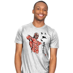 Flying For Freedom - Sumi Ink Wars - Mens - T-Shirts - RIPT Apparel