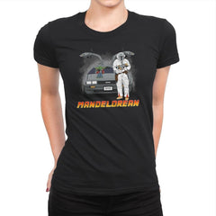 The ManDELORIAN - Womens Premium - T-Shirts - RIPT Apparel