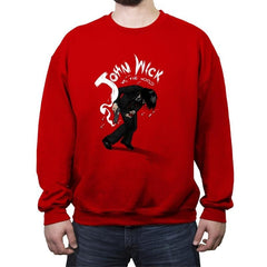 Mr. Wick vs the World - Crew Neck Sweatshirt - Crew Neck Sweatshirt - RIPT Apparel