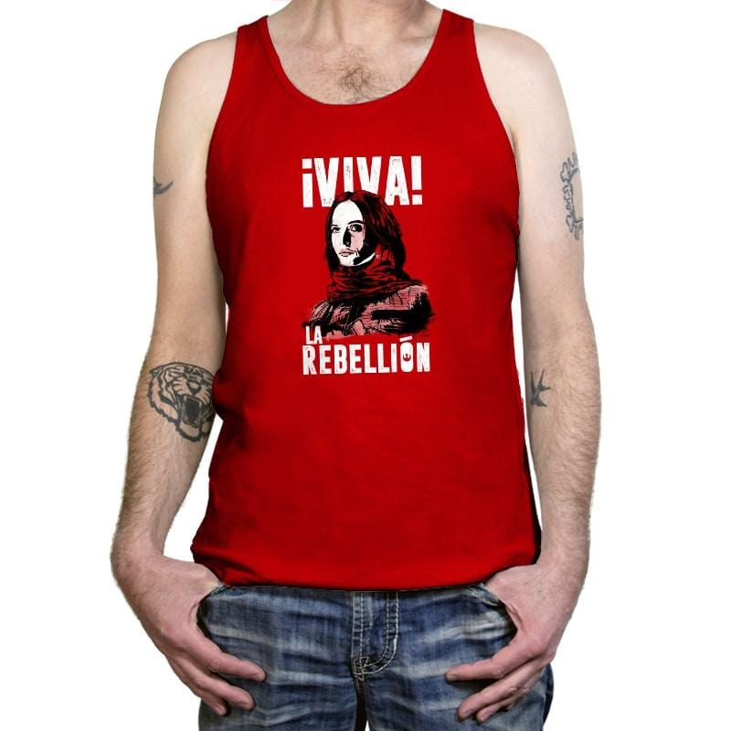Viva La Rebellion - Tanktop - Tanktop - RIPT Apparel