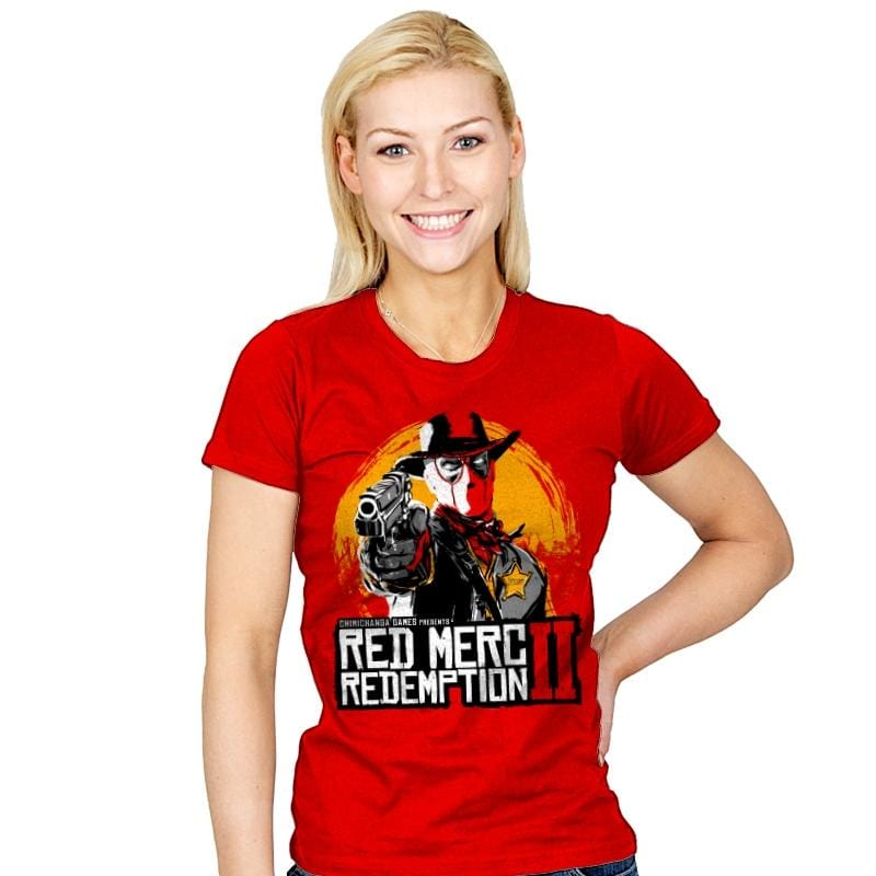 Red Merc Redemption II - Womens - T-Shirts - RIPT Apparel