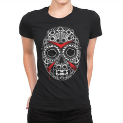 Sugar Skull Slasher - Womens Premium - T-Shirts - RIPT Apparel