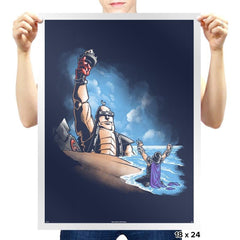 Damn You All to Shell Exclusive - Prints - Posters - RIPT Apparel