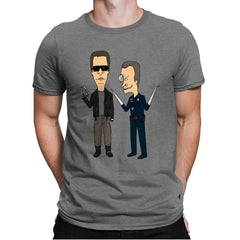 T800 and T1000 - Mens Premium - T-Shirts - RIPT Apparel