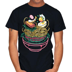 Floating Ramen - Mens - T-Shirts - RIPT Apparel