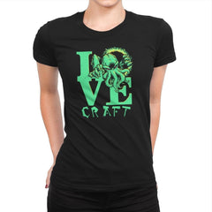 Cthulove Exclusive - Womens Premium - T-Shirts - RIPT Apparel