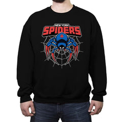 NY Spiders - Crew Neck Sweatshirt - Crew Neck Sweatshirt - RIPT Apparel