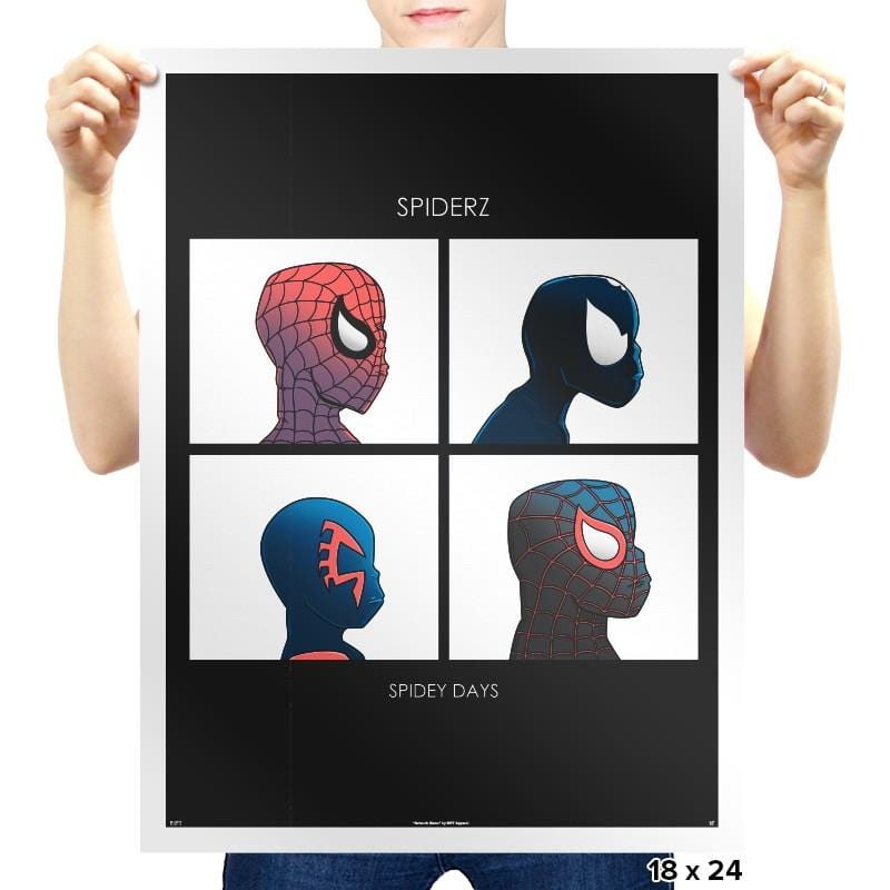 Spidey Dayz Exclusive - Prints - Posters - RIPT Apparel